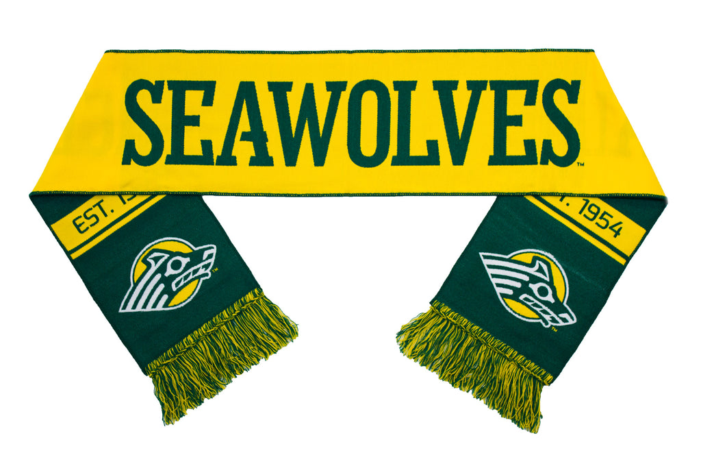 Alaska Anchorage Scarf - UA Anchorage Seawolves Woven Classic