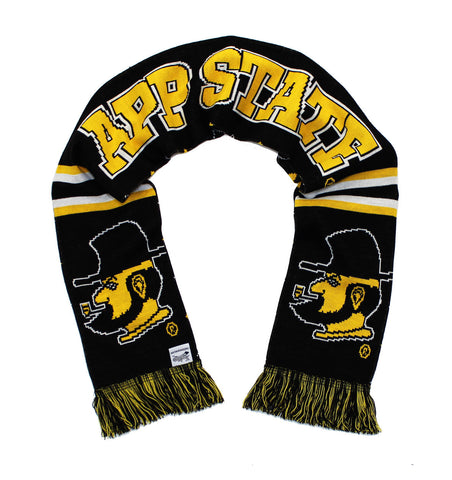 App State Scarf - Appalachian State Argyle Yosef Knitted