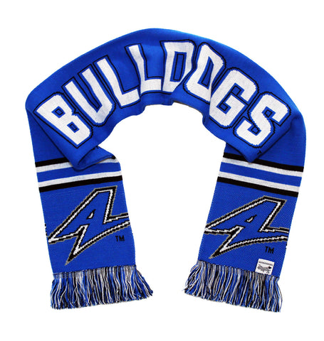 UNC Asheville Scarf - UNC Asheville Bulldogs Knitted