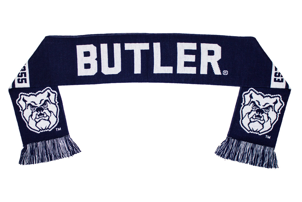 Butler University Scarf - Butler Bulldogs Knitted Classic