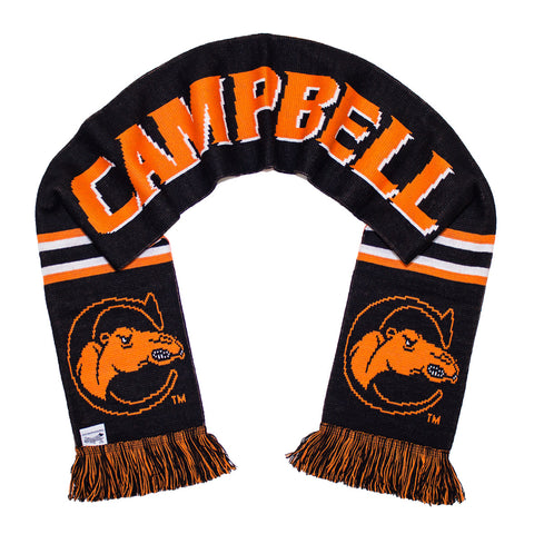 Campbell University Scarf - Campbell Camels Knitted Classic