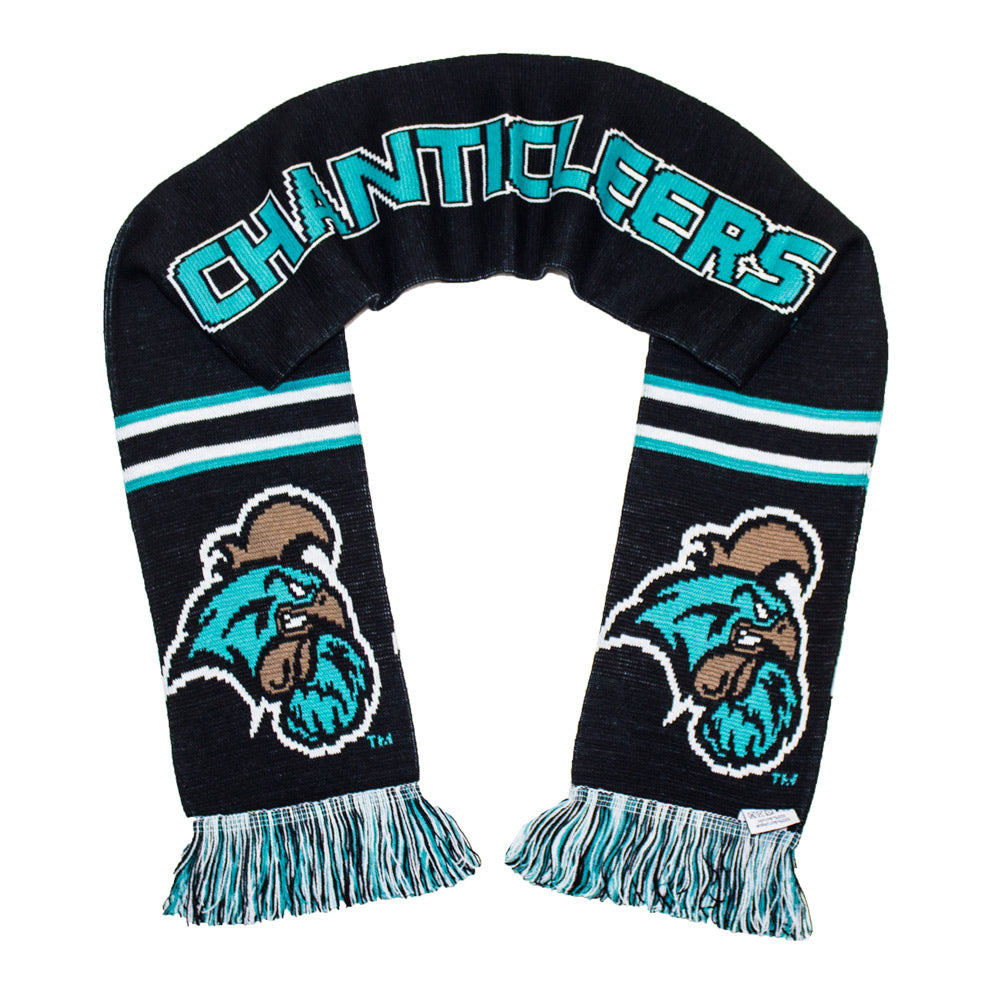 Coastal Carolina Scarf - CCU Chanticleers Knitted Classic