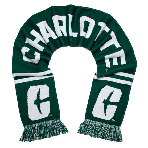 Charlotte 49ers Scarf - UNC Charlotte Knitted Classic