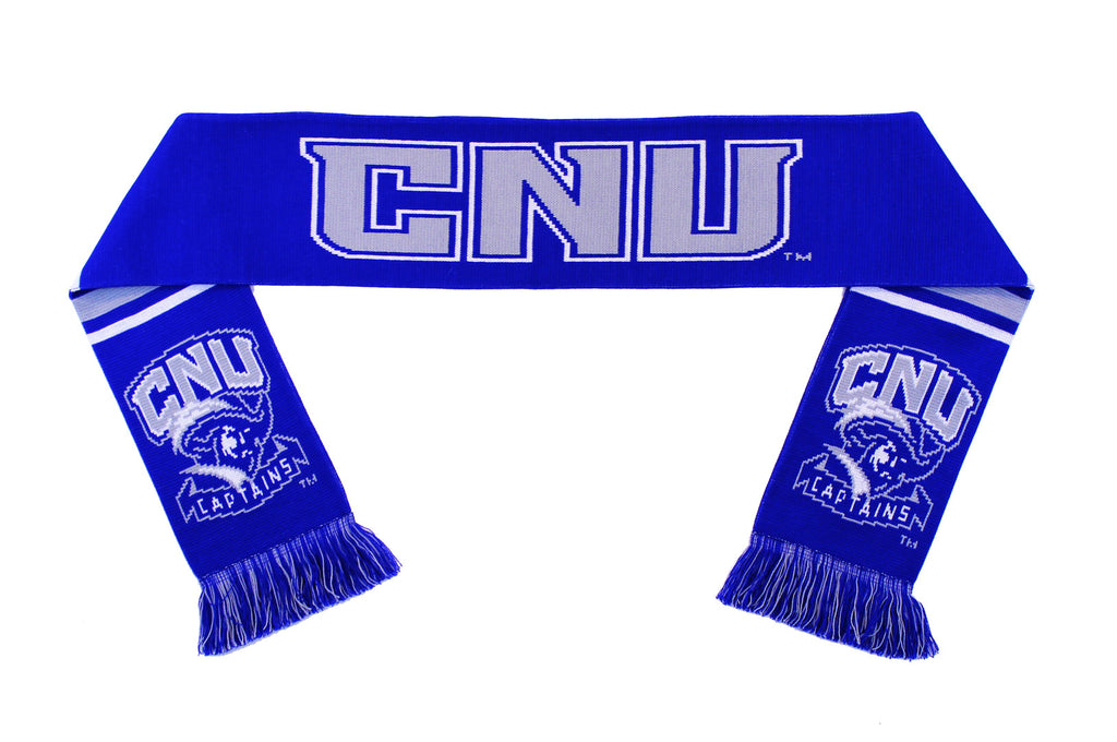 Christopher Newport University Scarf - CNU Captains Knitted Classic