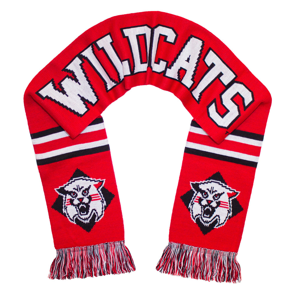 Davidson College Scarf - Davidson Wildcats Classic Knitted