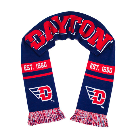 Dayton Flyers Scarf - UD University of Dayton Knitted Classic