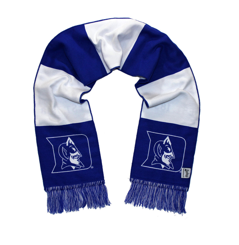 Duke Blue Devils Scarf - Duke University Alternate White Woven