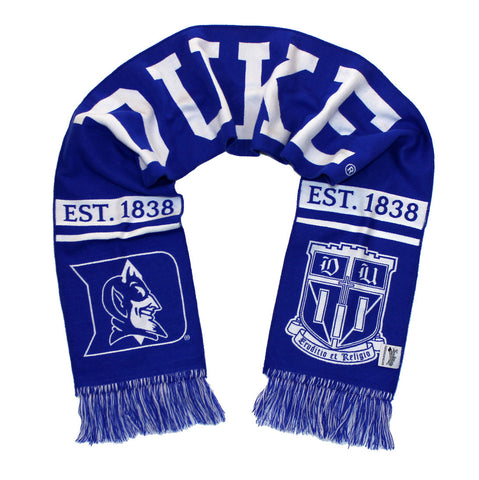 Duke University Scarf - Classic Duke Blue Devils