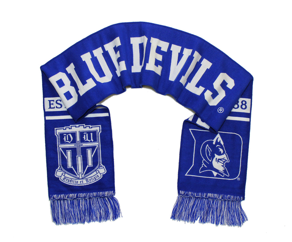 Duke University Scarf - Classic Duke Blue Devils Woven