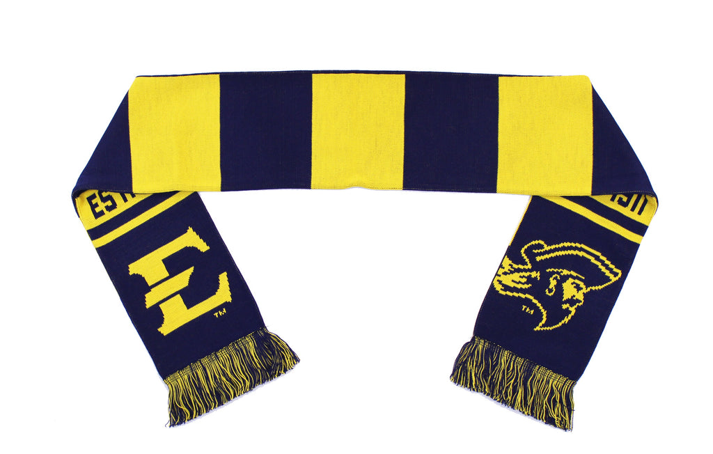 ETSU Scarf - East Tennessee State Bucs Knitted Classic