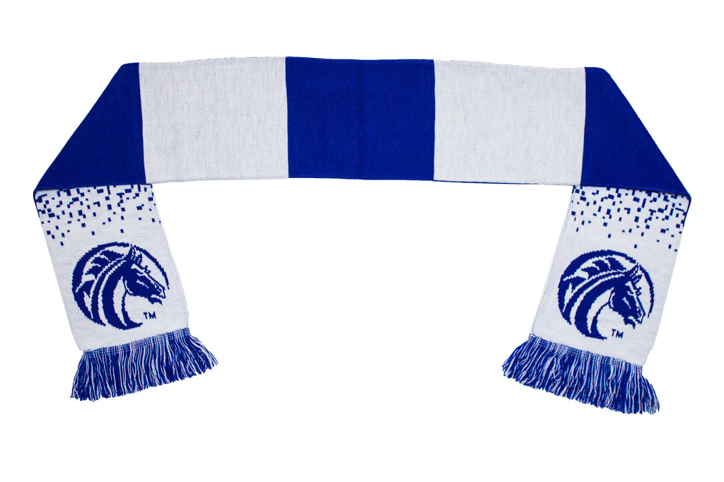 Fayetteville State Scarf - FSU Broncos Classic Gradient Knitted