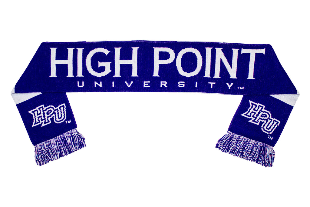 High Point University Scarf - HPU Panthers Knitted Classic