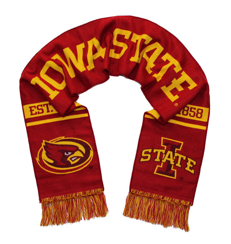 Iowa State Cyclones Scarf - Iowa State University Classic Woven
