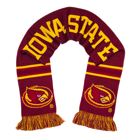 Iowa State Scarf - Iowa State Cyclones Knitted Classic
