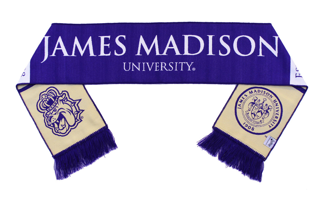 James Madison University Scarf - JMU Dukes Classic Woven