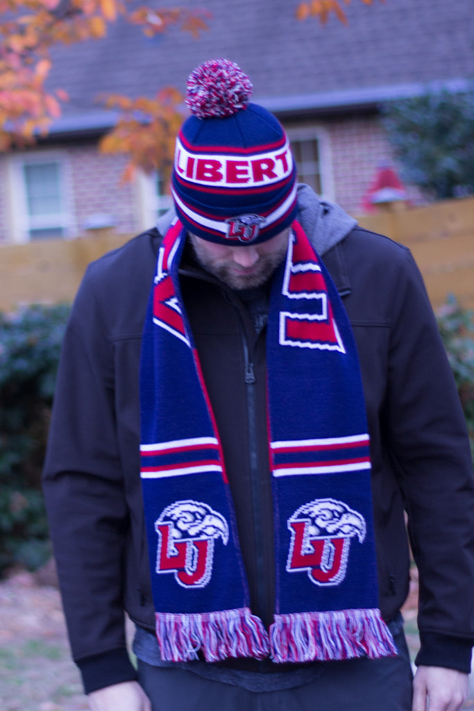 Liberty University Beanie - Liberty Flames Knitted Toboggan