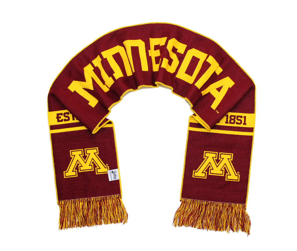 Minnesota Golden Gophers Scarf - University of Minnesota 2017 Woven