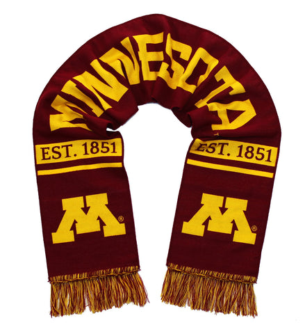 Minnesota Golden Gophers Scarf - UM University of Minnesota