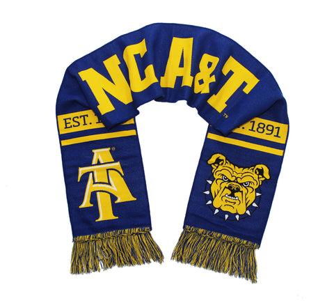 NC A&T Aggies Woven Scarf