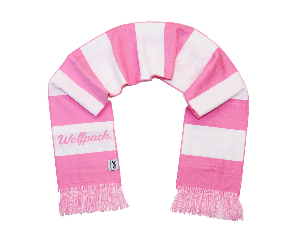 NC State Scarf - Pink Kay Yow Edition - NCSU Lady Wolfpack