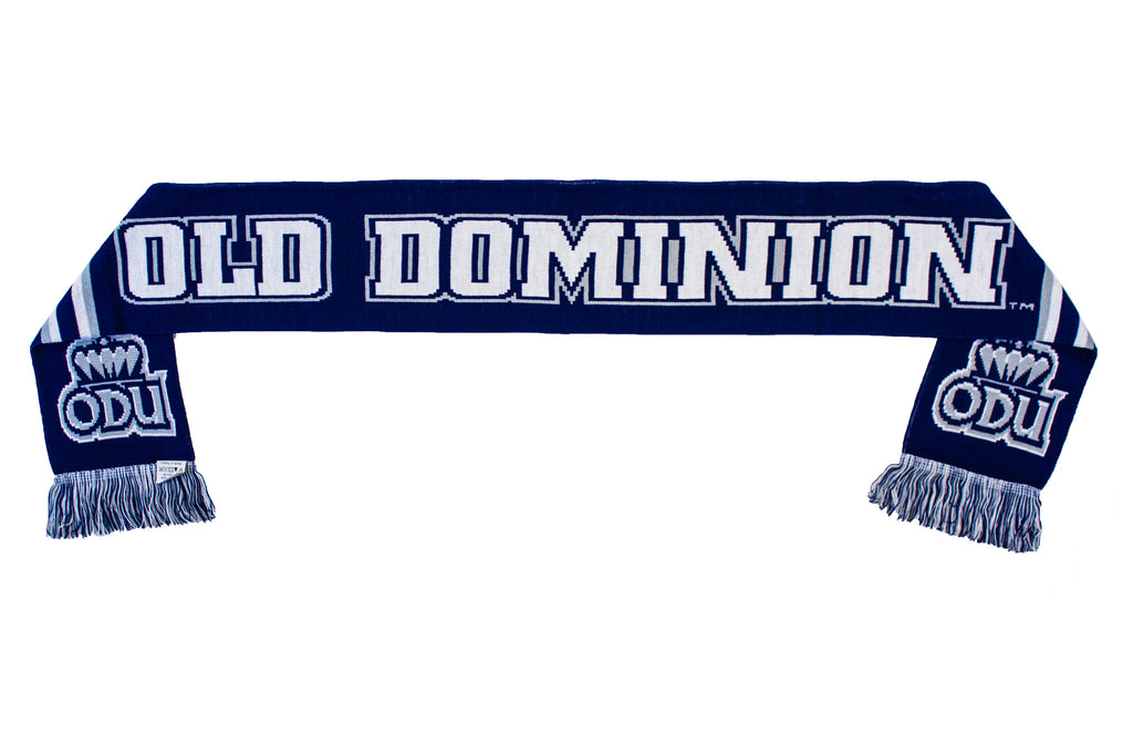 Old Dominion Scarf - ODU Monarchs Knitted Classic