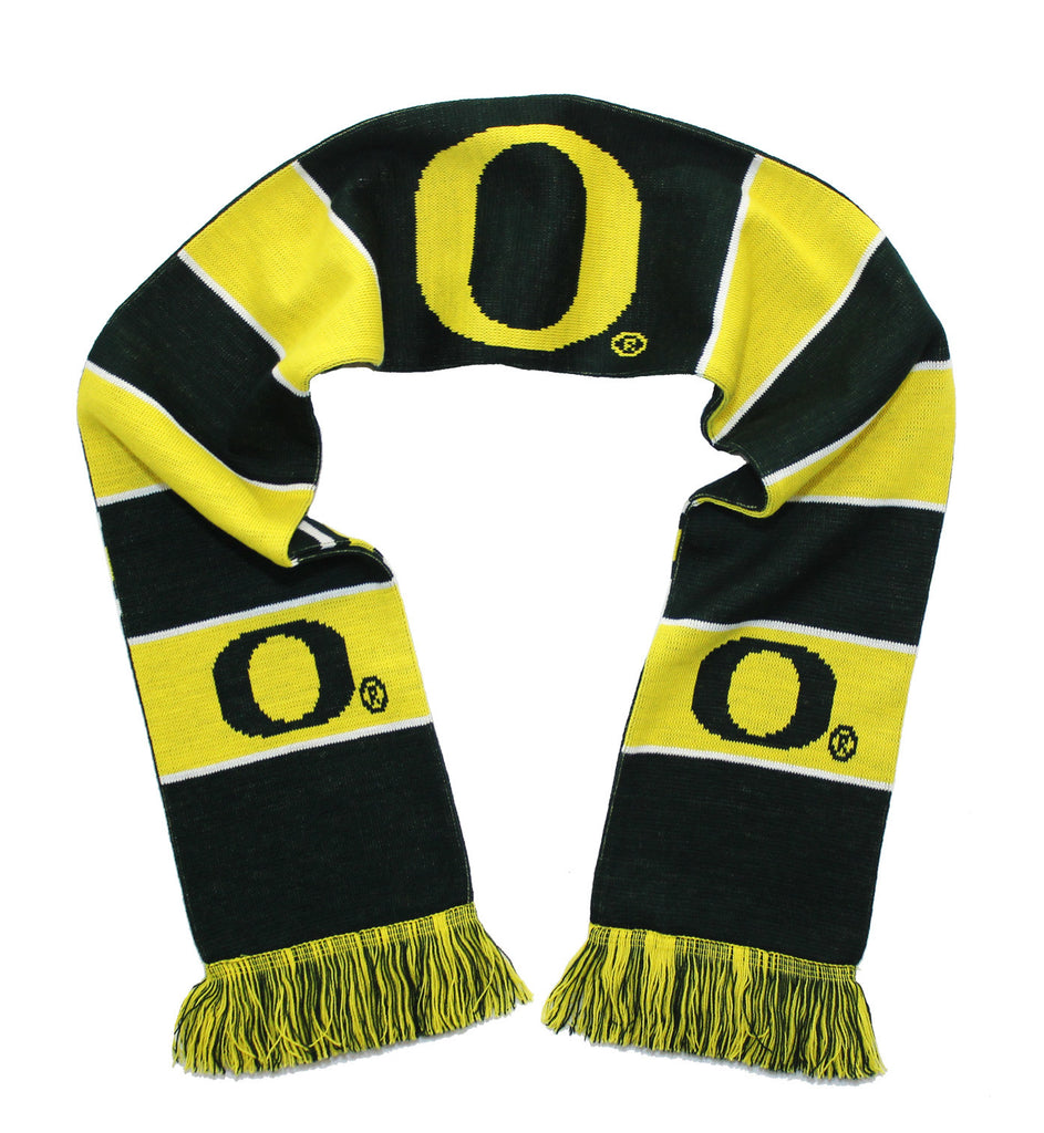 Oregon Ducks Scarf - University of Oregon Classic Knitted