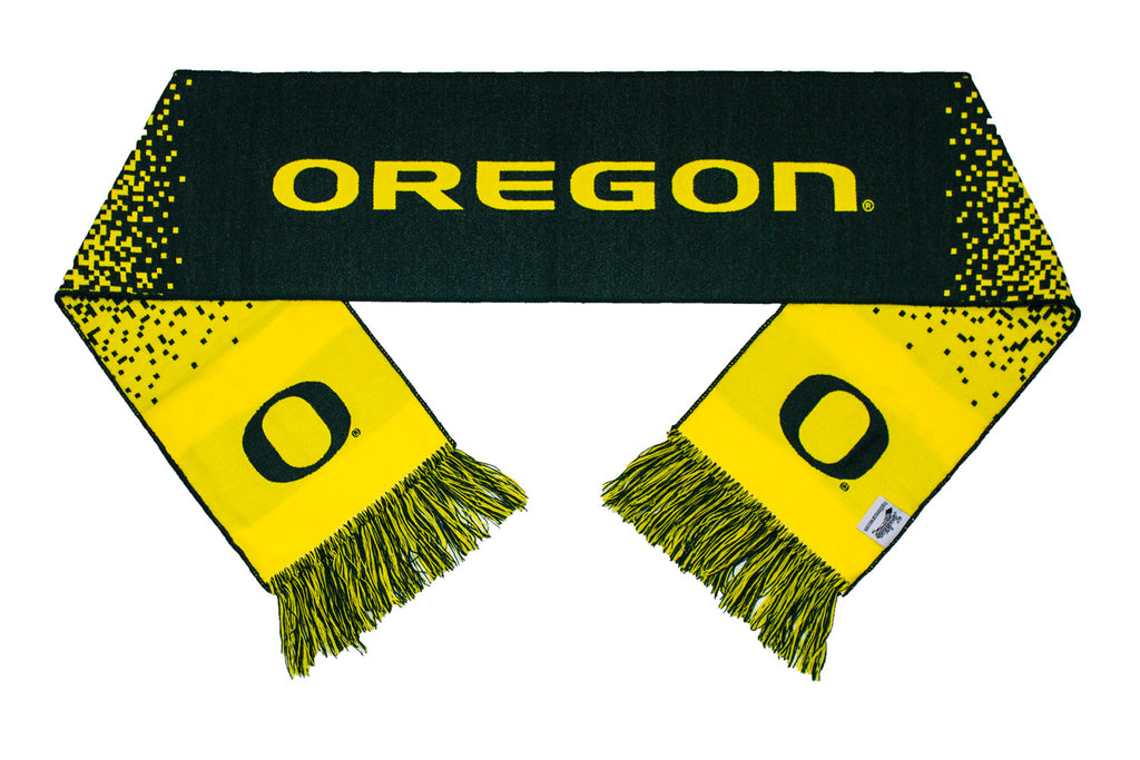 Oregon Ducks Scarf - University of Oregon Gradient Woven Scarf