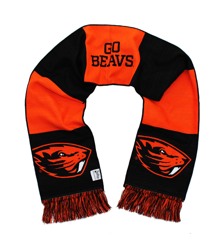 Oregon State Beavers Scarf - OSU Oregon State University Classic Woven