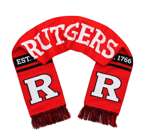 Rutgers University Scarf - Scarlet Knights Classic Block R Woven