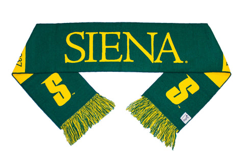 Siena College Scarf - Siena Saints Woven Classic