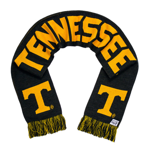 Tennessee Scarf - Tennessee Volunteers Alternate Anthracite Knitted