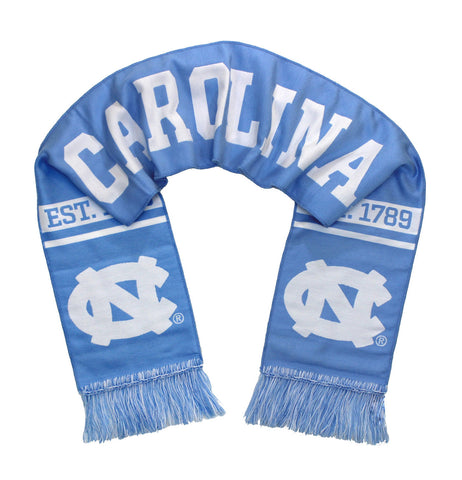 UNC Tar Heels Scarf - University of North Carolina Woven Classic