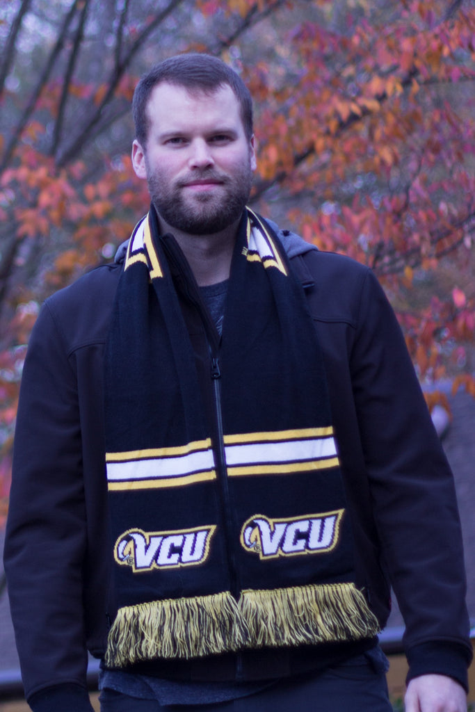 VCU Rams Scarf - Virginia Commonwealth University HD Knitted