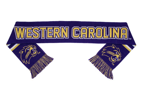 Western Carolina Scarf - WCU Catamounts Knitted Classic