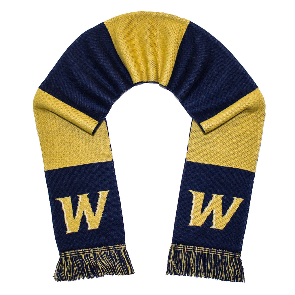 Wingate University Scarf - Wingate Bulldogs Knitted Classic