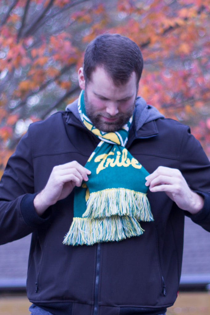 William & Mary Scarf - William & Mary Tribe Knitted