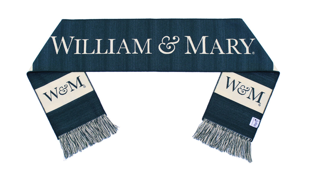 William & Mary Scarf - Classic Woven with Seal