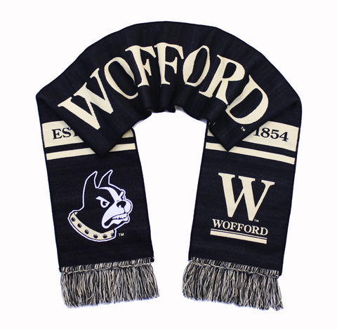 Wofford Terriers Scarf - Wofford College Woven