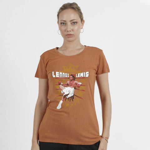Lennox Lewis In The Ring T-Shirt