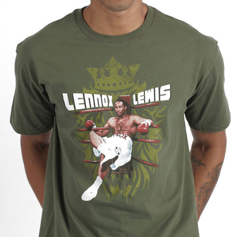 Lennox  Lewis in the Ring T -Shirts