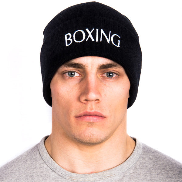 Boxing Knit Slouch Beanie