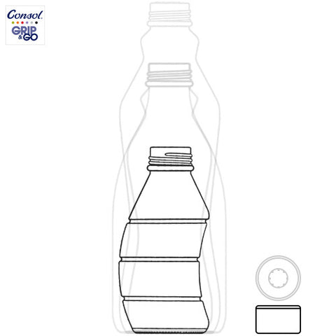 350ml Curvy Bottle Information
