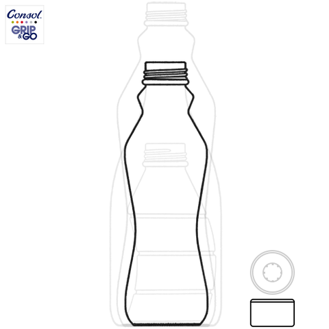 500ml Grip & Go Bottle Information