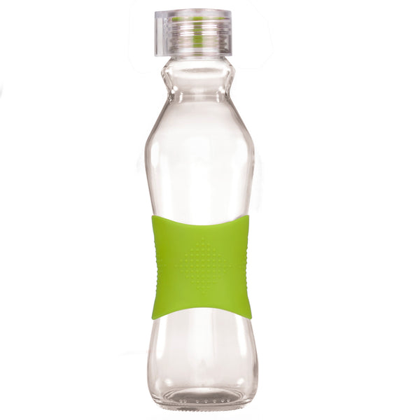 500ML GREEN GRIP - CLEAR