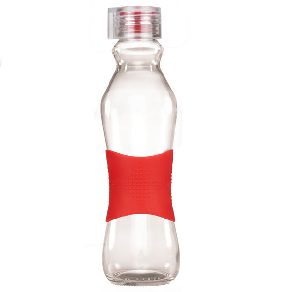 500ML RED GRIP - CLEAR