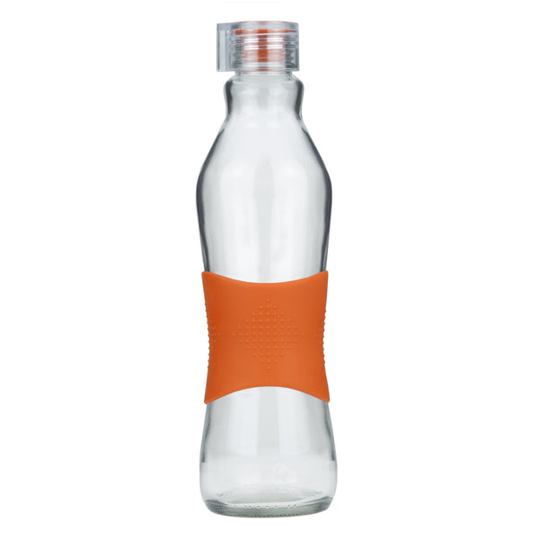 1.0L ORANGE GRIP - CLEAR