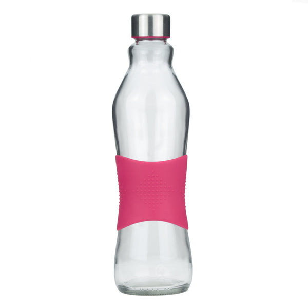 1.0L PINK GRIP - STAINLESS