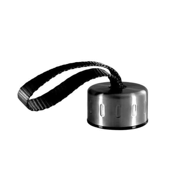 BLACK STAINLESS STEEL STRAP LID