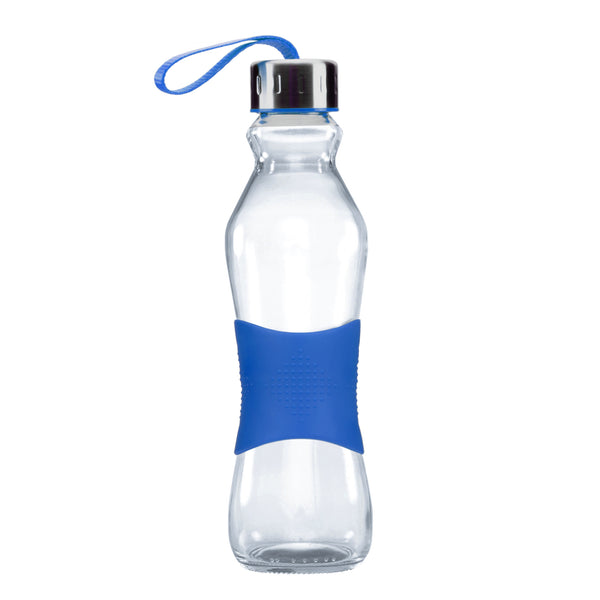 500ML BLUE GRIP - STRAPPED LID