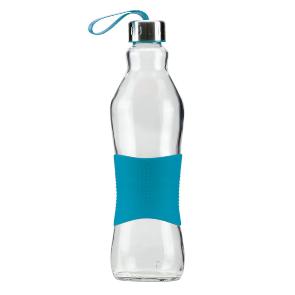 1.0L CYAN GRIP - STRAPPED LID